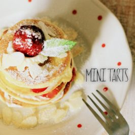Mini tarts (tortičky z amerických palaciniek)