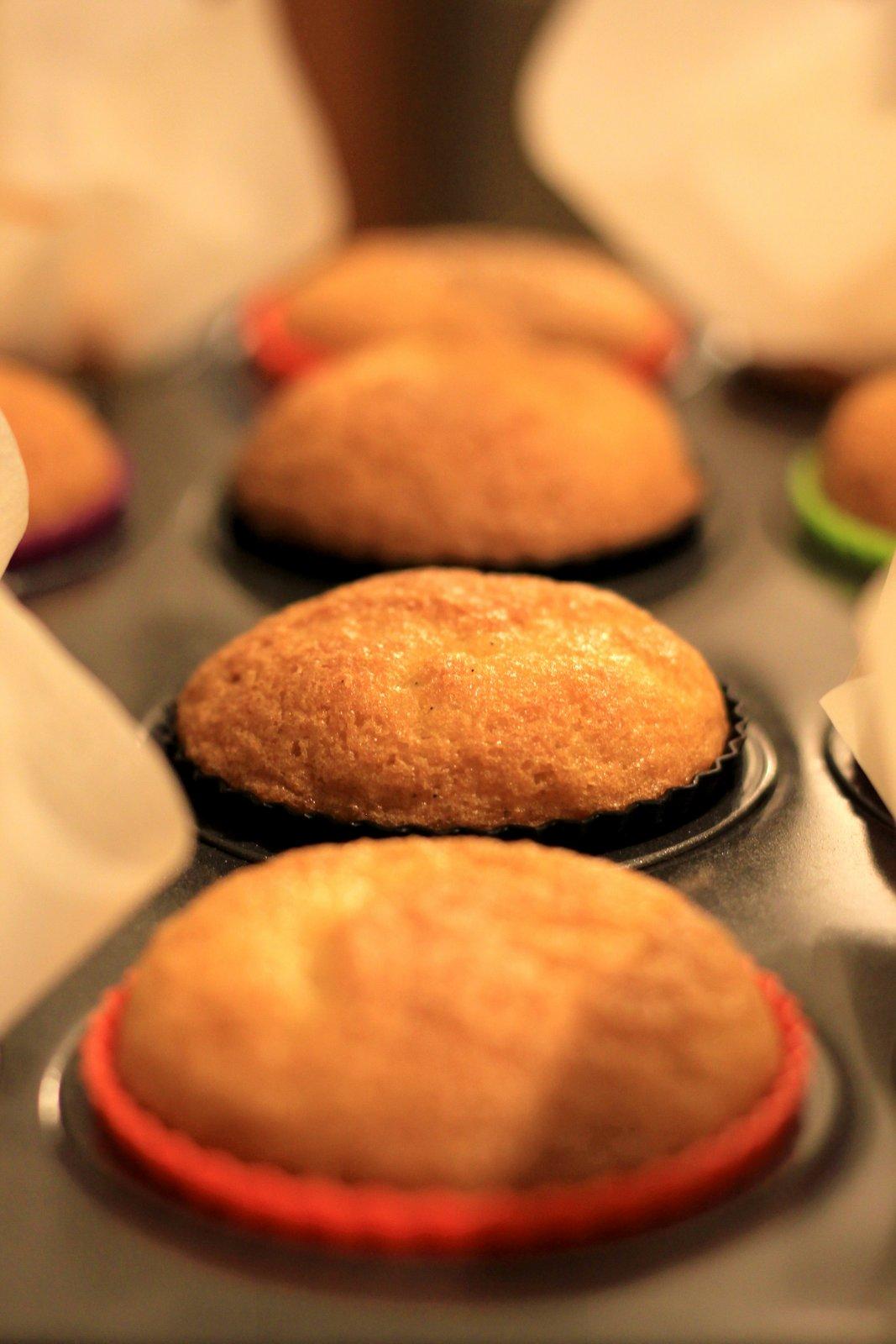 cucoriedkove cupcakes, recept