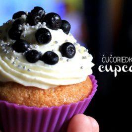 cucoriedkové cupcakes, recept