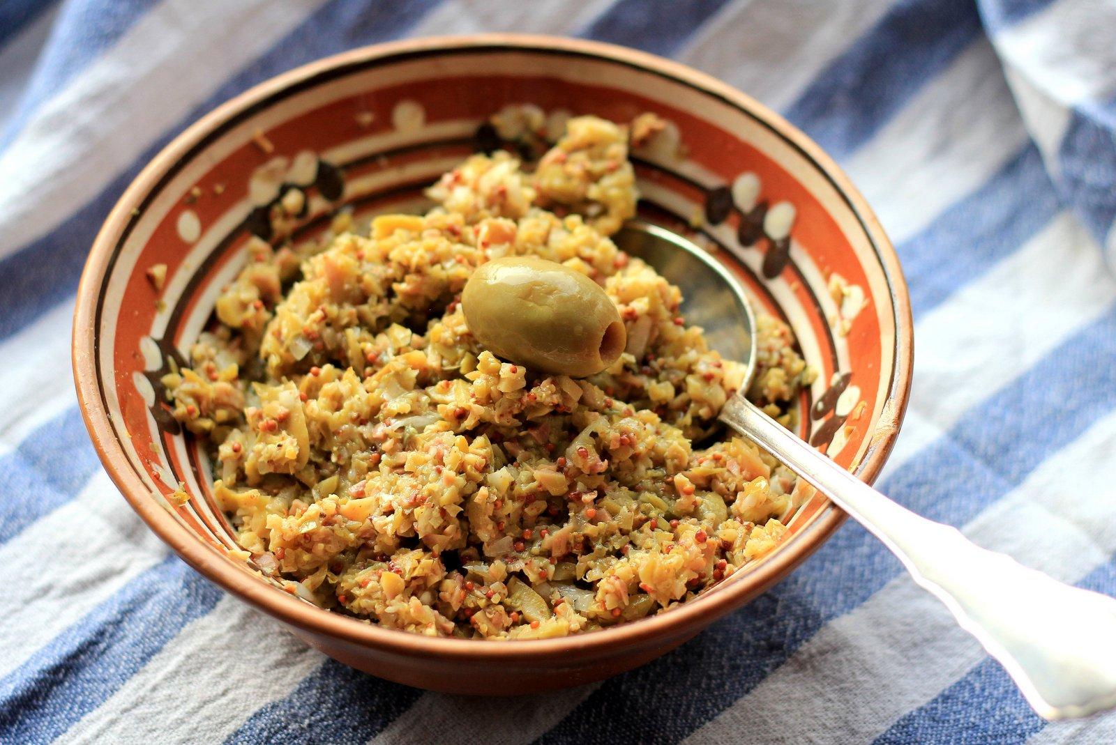 olivova tapenada, recept