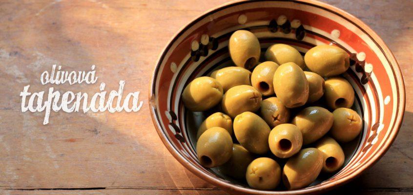 Olivová tapenáda ako lusk