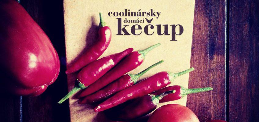 domáci kečup, recept