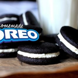 Homemade Oreo