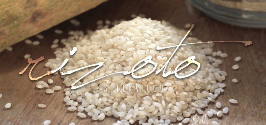 tekvicové rizoto