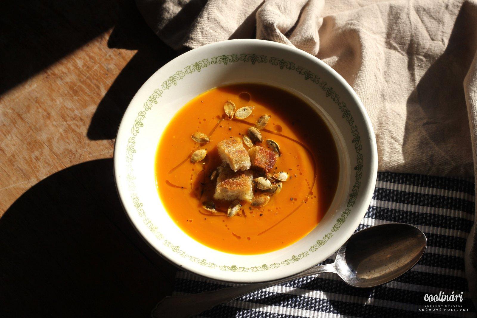 Hokkaido, krémová polievka, recept