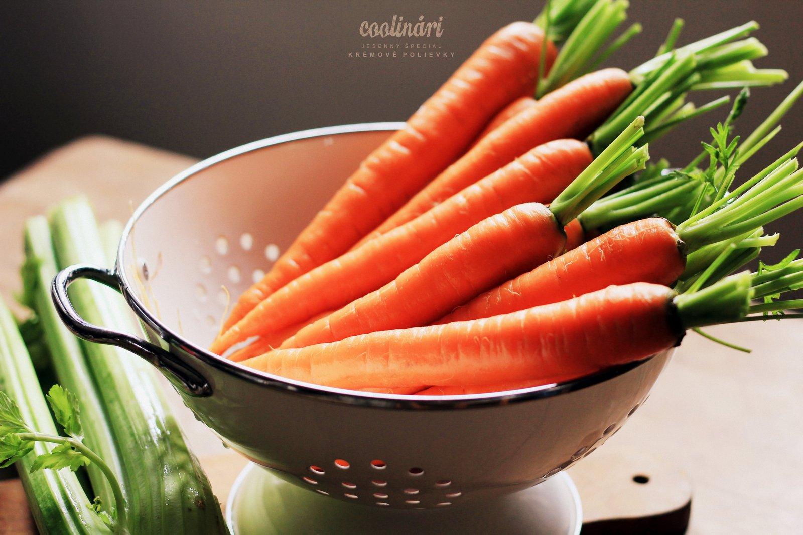 mrkvový krém - recept