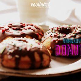 vanilkové donuty, recepty