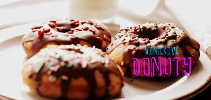 Vanilkové donuty