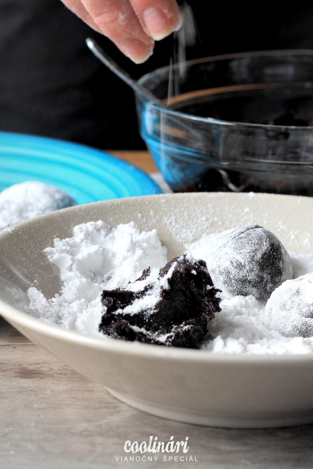 popraskané brownies, recept