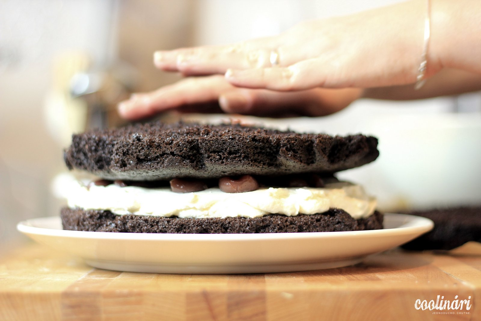 Torta z čierneho lesa, schwarzwald