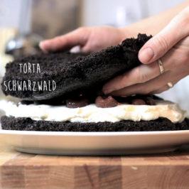 blackforest, torta z čierneho lesa, schwarzwald, recept