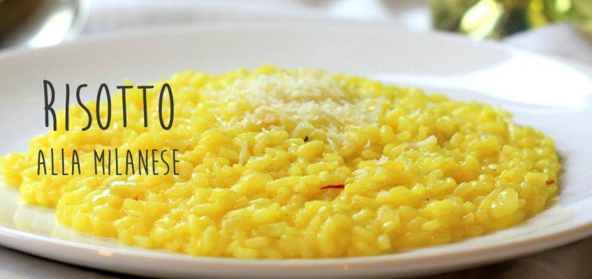 milánske rizoto, risotto alla milanese
