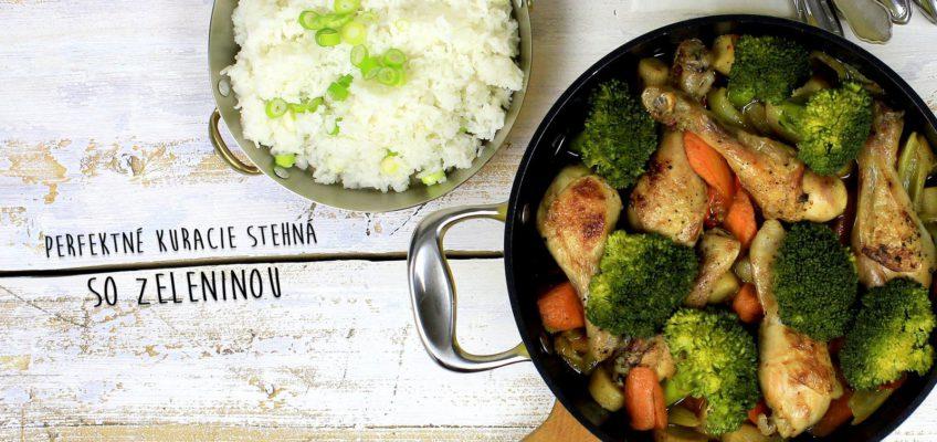 perfektné kuracie so zeleninou