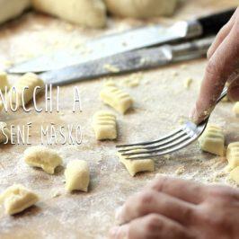 gnocchi a bravčové dusené