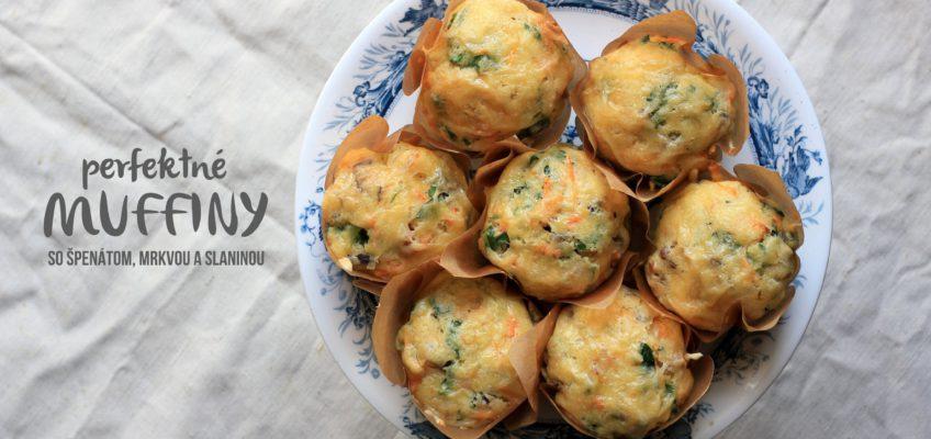 Mrkovo-spenatove muffiny, recept