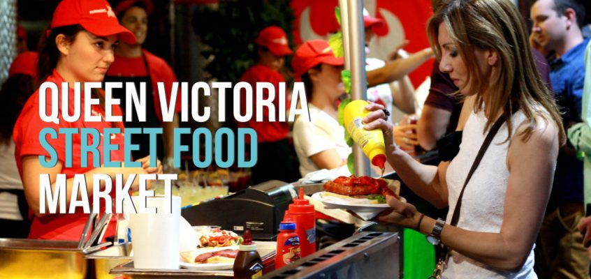 Queen Victoria Market, Street food ako sa patrí