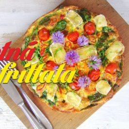 letna frittata recept