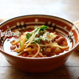 minestrone recept