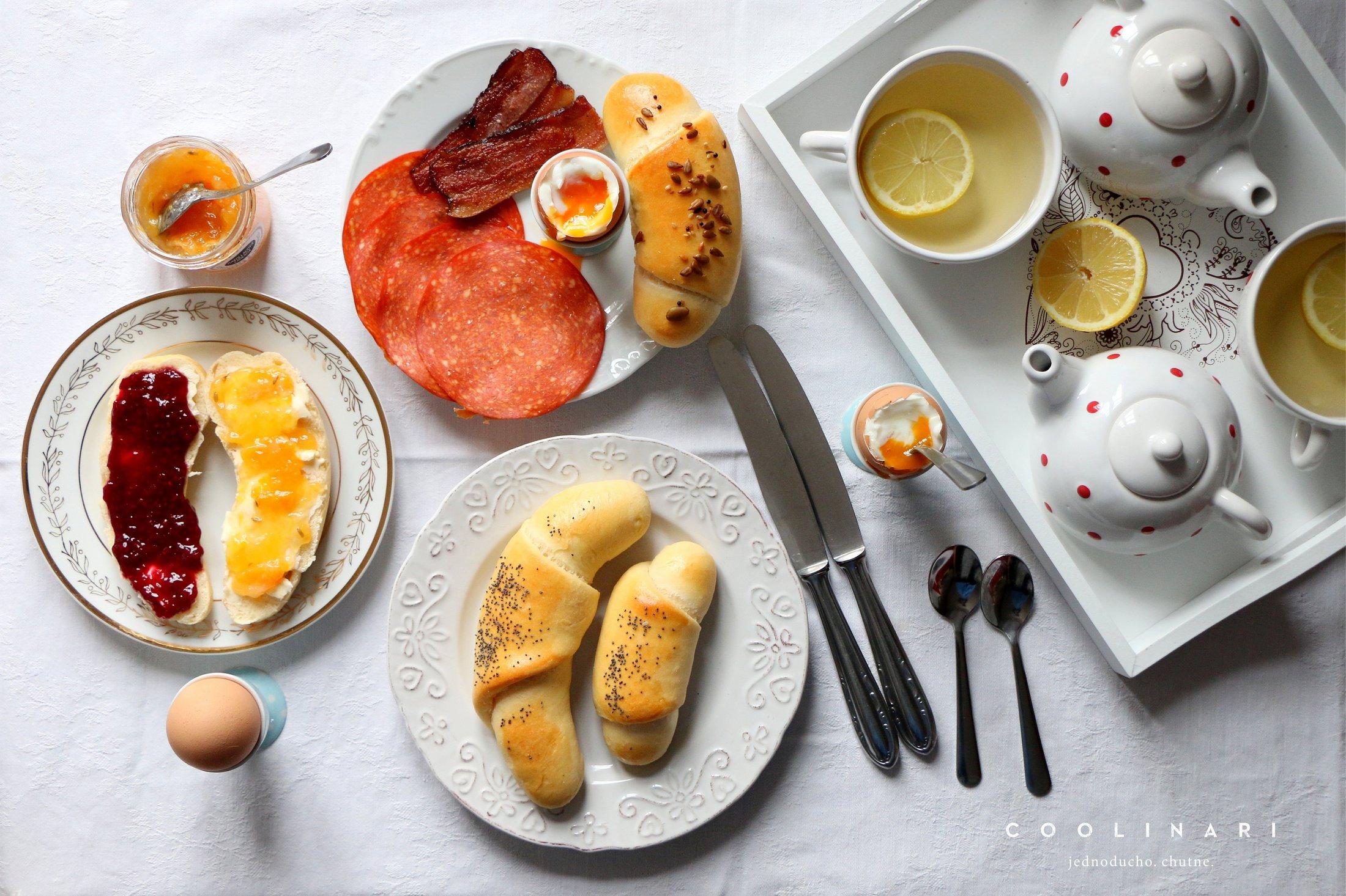 Roožky na raňajky
