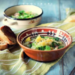 Kapustovo kelová polievka