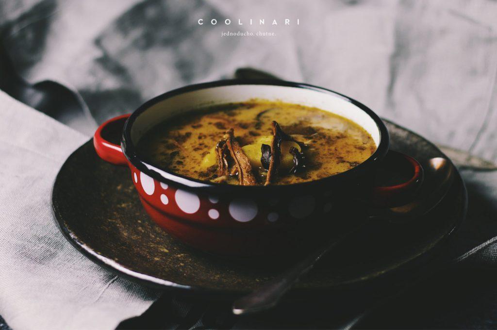 9331de4c0 Zemiaková polievka s hubami - Coolinári | food blog