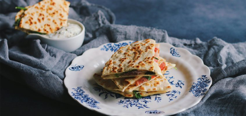 Quesadilla a domáce tortilly