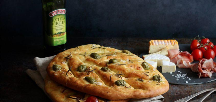 Chlieb Fougasse
