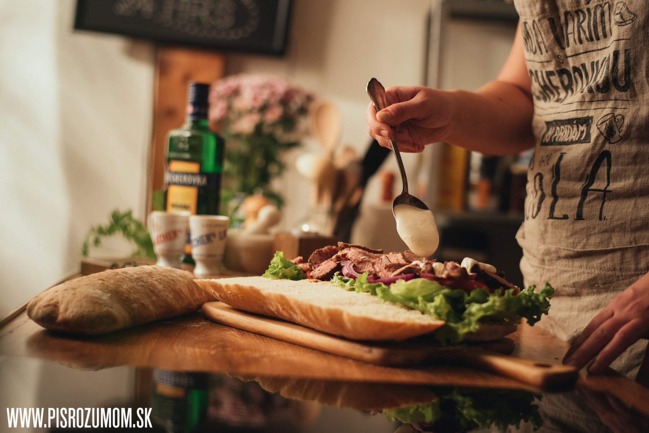 steak sendvič