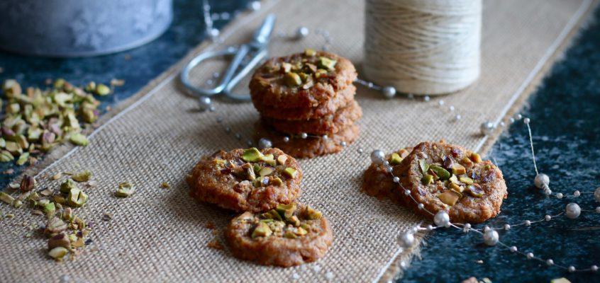 Figovo-pistáciové sušienky