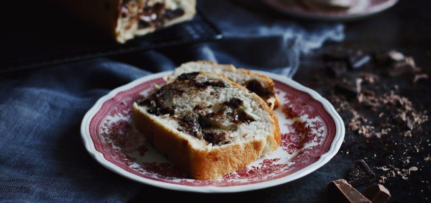 Čokoládovo-orechový chlieb