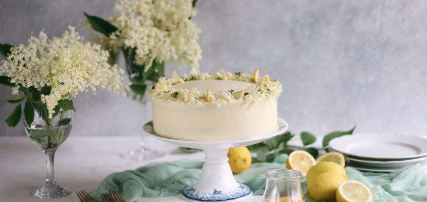 Citrónovo – bazová torta