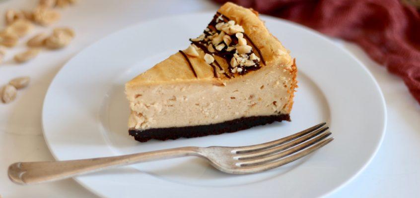 Arašidový cheesecake
