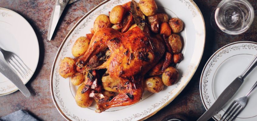 Nedeľné pečené kura