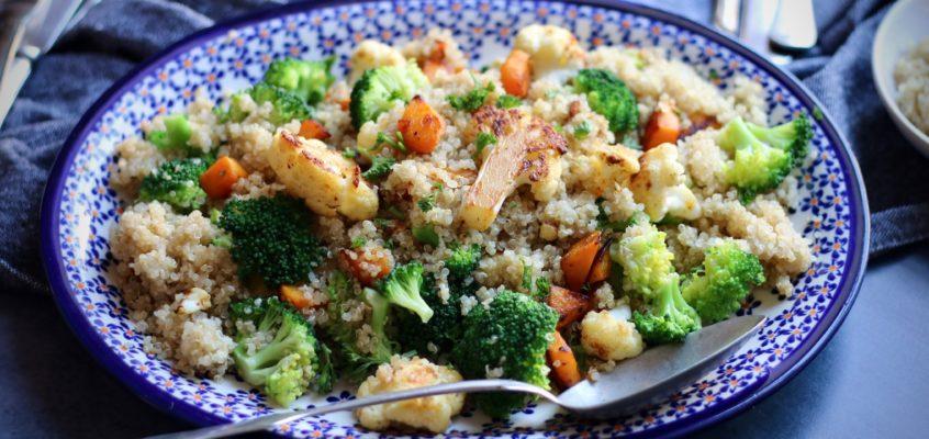 Perfektná zeleninová quinoa