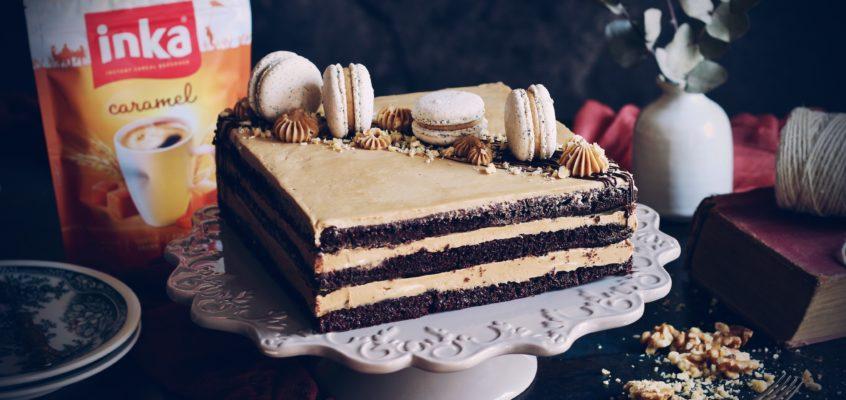 Kakaovo-orechová torta