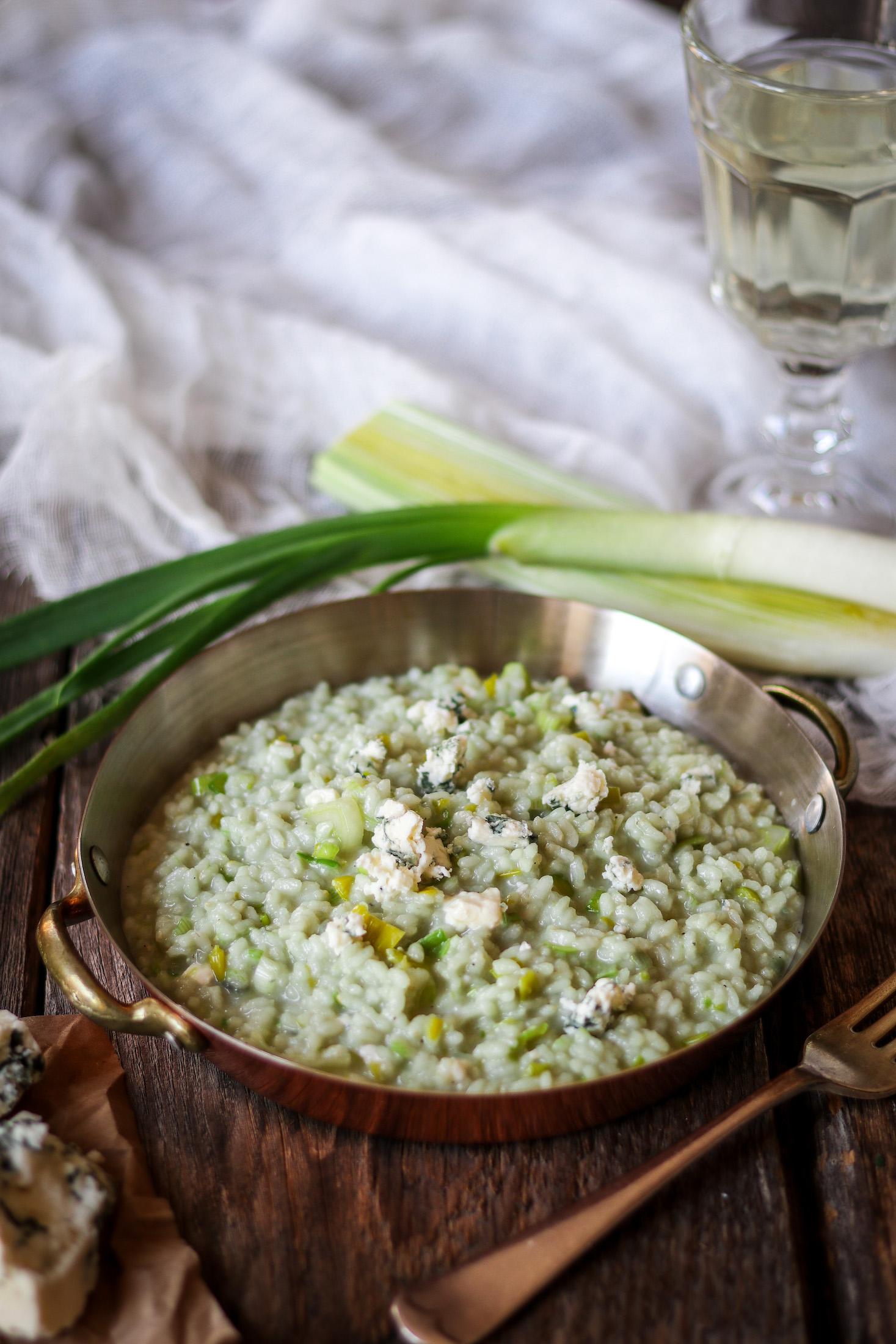 rizoto s gorgonzolou