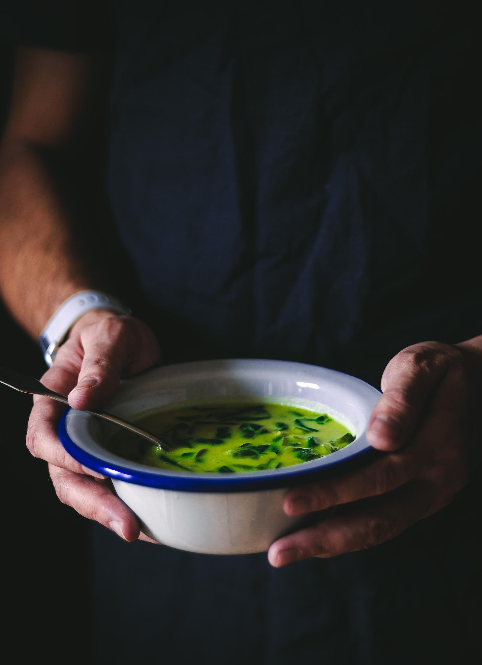 spenatova polievka