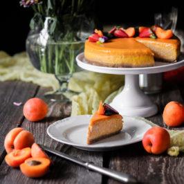 Marhuľový cheesecake