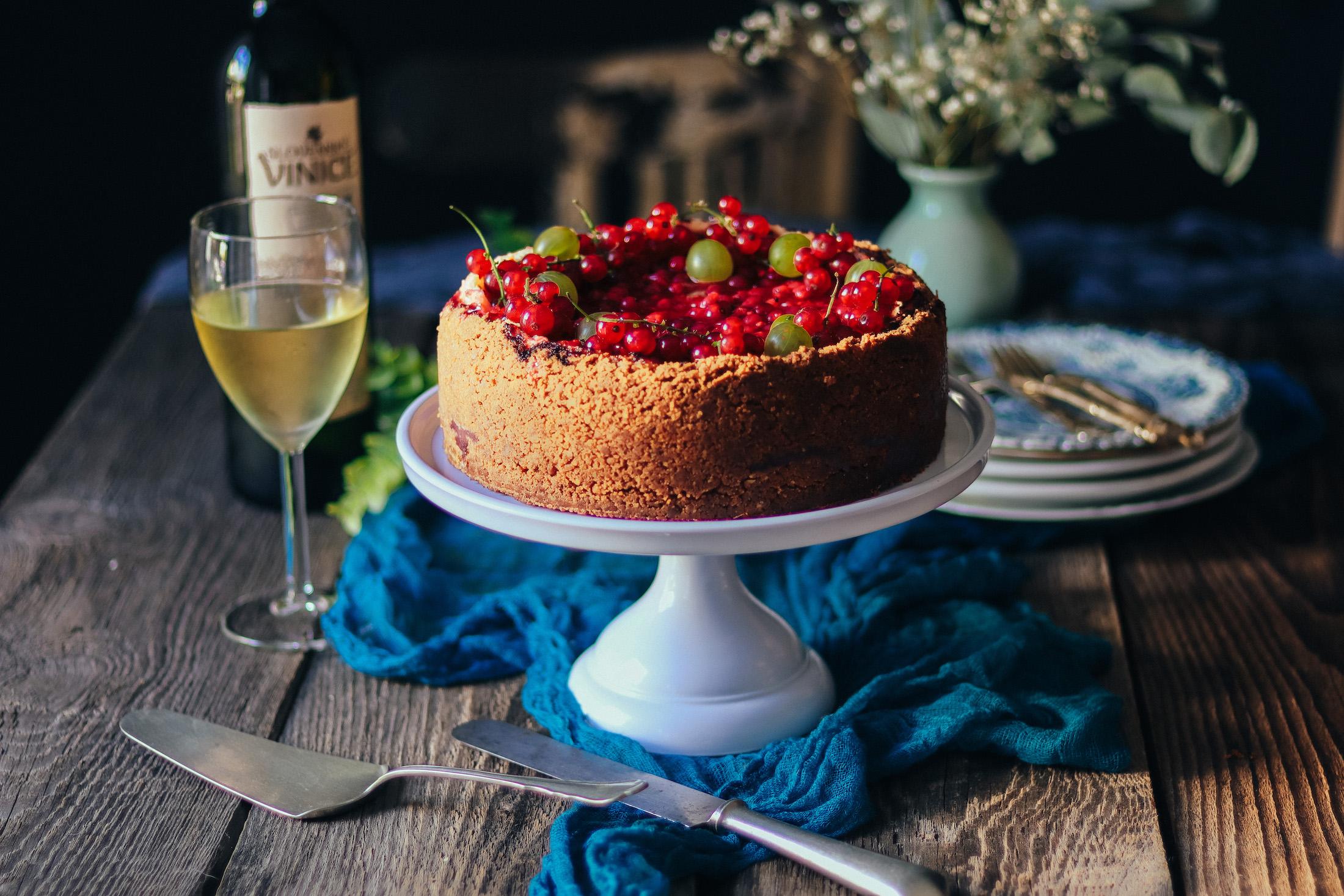 r'bezľový cheesecake