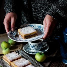 Jablkový koláč Linzerka