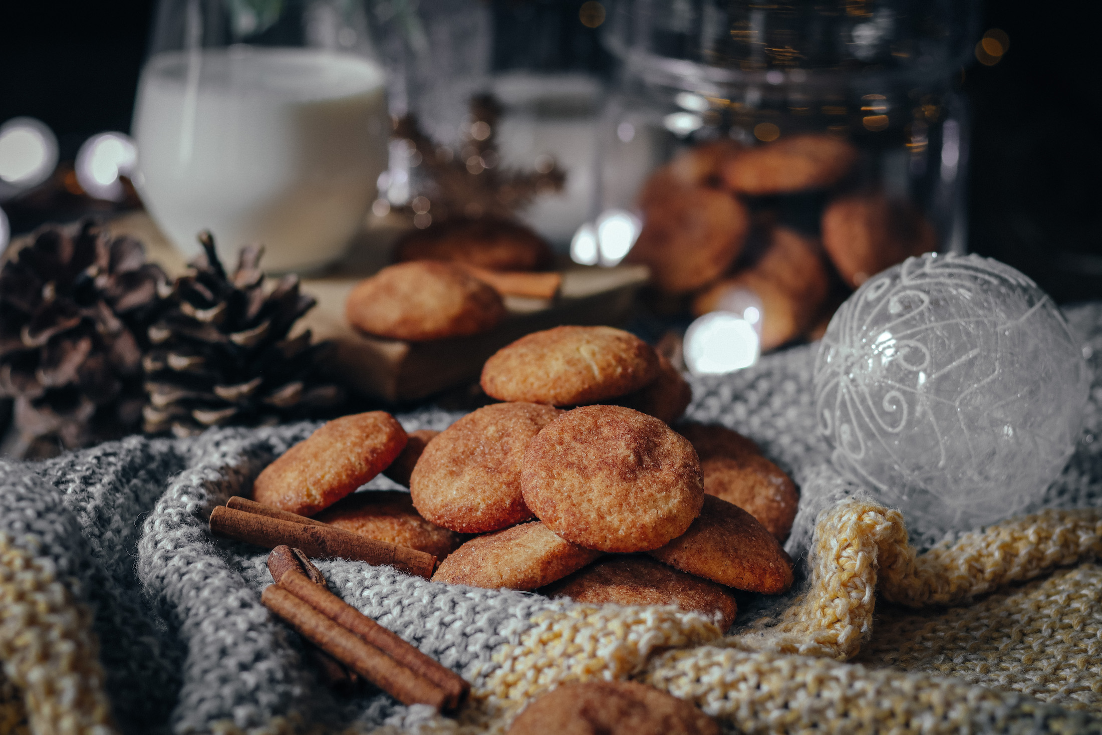 škoricové sušienky