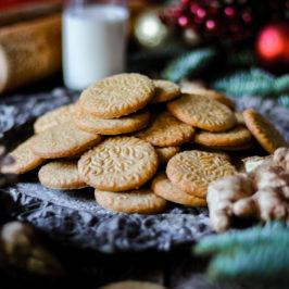 zázvorovo-medové sušienky
