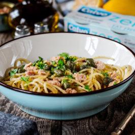 špagety s tuniakom
